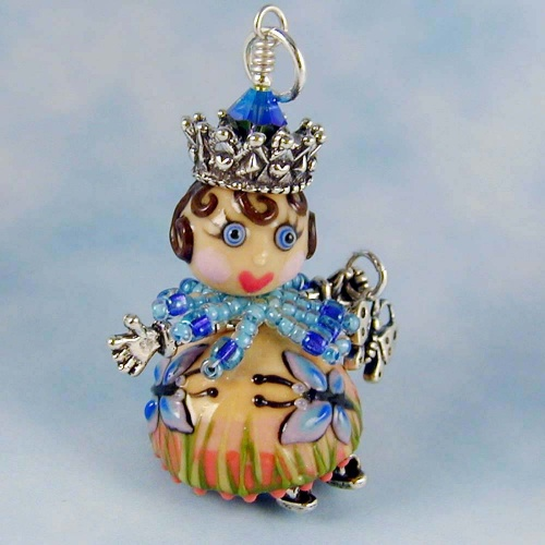 Madam Butterfly Doll Pendant