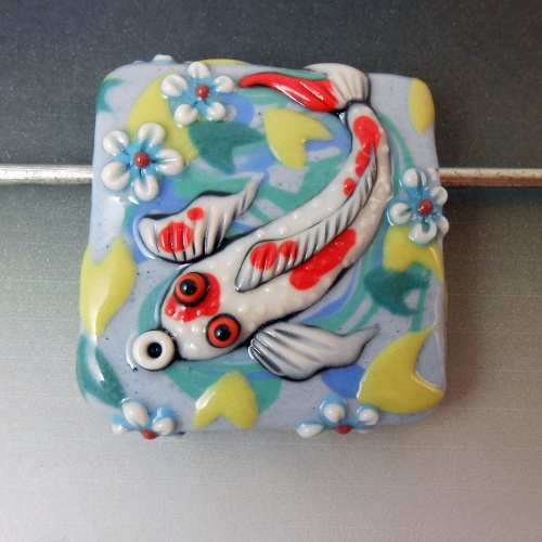 Koi Pond Focal Bead