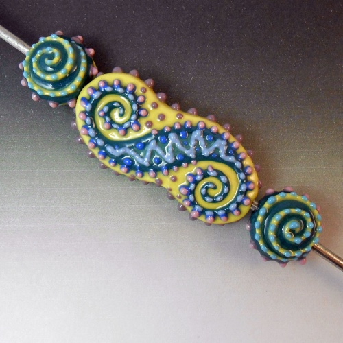 Spirals Bead Set